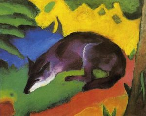 Franz Marc - Blue Fox