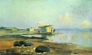 Fyodor Alexandrovich Vasilyev - On the River. Calm