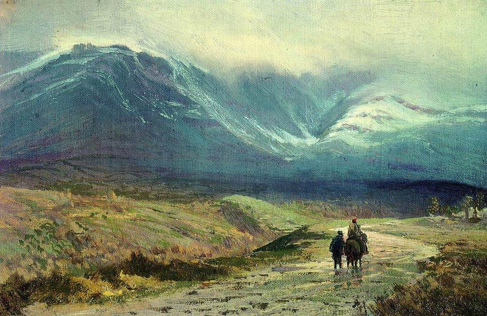 In the Crimea. After a Rain, 1873 by Fyodor Alexandrovich Vasilyev (1850-1873, Russia) | Oil Painting | ArtsDot.com
