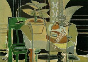 Georges Braque - Interior with Palette