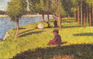 Georges Pierre Seurat - Seated figures