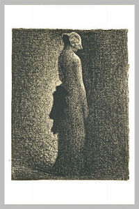 Georges Pierre Seurat - The black bow