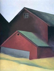 Georgia Totto O-keeffe - Ends Of Barns