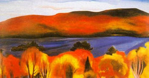 Georgia Totto O'Keeffe - Lake George, Autumn