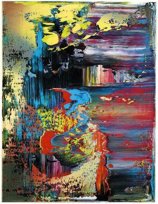 Abstract Picture by Gerhard Richter | Painting Copy | ArtsDot.com