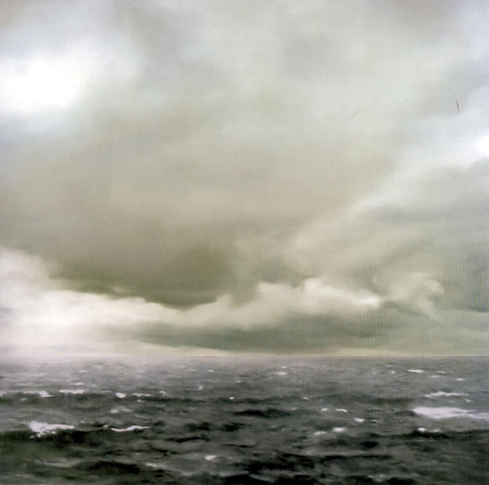 Seascape (Cloudy), 1969 by Gerhard Richter