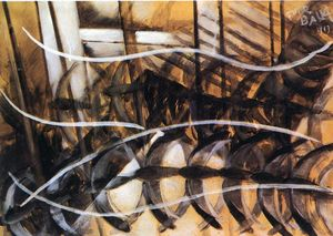 Giacomo Balla - Lines of Movement and Dyn..