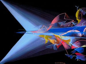 Giacomo Balla - Science against Obscurant..