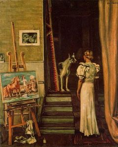 Giorgio De Chirico - Paris studio of the artist