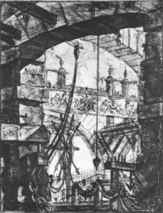 Giovanni Battista Piranesi - The Prisons (plate IV)
