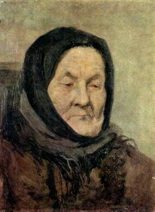 Grigoriy Myasoyedov - Portrait of old woman