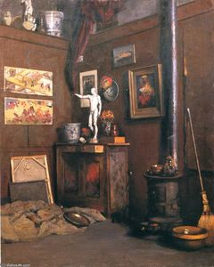 Gustave Caillebotte - Interior of a Studio