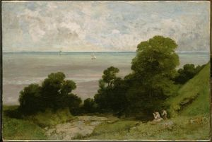 Gustave Courbet - The Embouchment of Seine