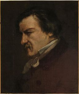 Gustave Courbet - Portrait of Champfleury