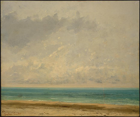 Calm Sea, 1866 by Gustave Courbet (1819-1877, France) | Museum Quality Copies Gustave Courbet | ArtsDot.com