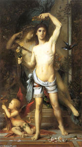 Gustave Moreau - The Young Man and Death