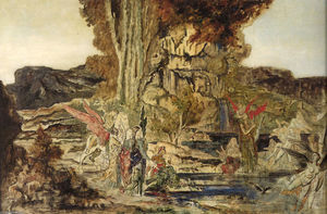 Gustave Moreau - The Pierides