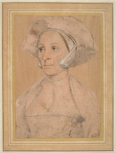 Hans Holbein The Younger - Portrait of an Englishwoman