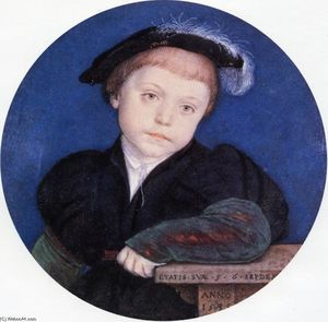 Hans Holbein The Younger - Portrait of Charles Brandon