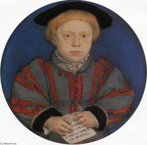 Hans Holbein The Younger - Portrait of Henry Brandon