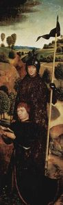 Hans Memling - Praying Donor with St. William of Maleval