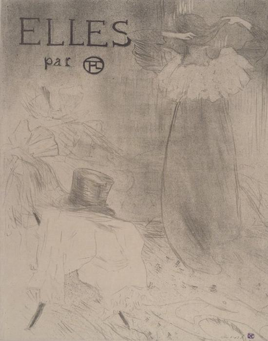 Couverture for Elles, 1896 by Henri De Toulouse Lautrec (1864-1901, Second French Empire)