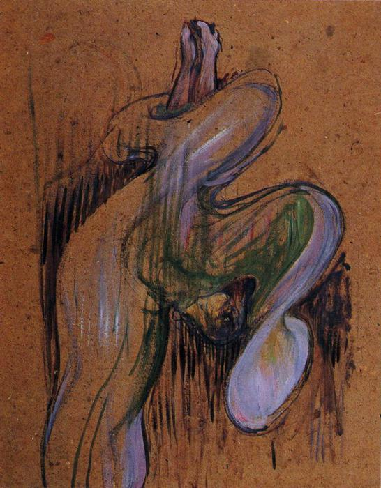 Lo e Fuller in, Oil by Henri De Toulouse Lautrec (1864-1901, France)