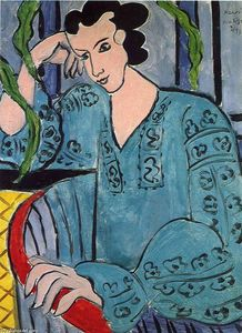 Henri Matisse - The Romanian Green Bluse