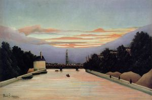 Henri Julien Félix Rousseau (Le Douanier) - The Eiffel Tower
