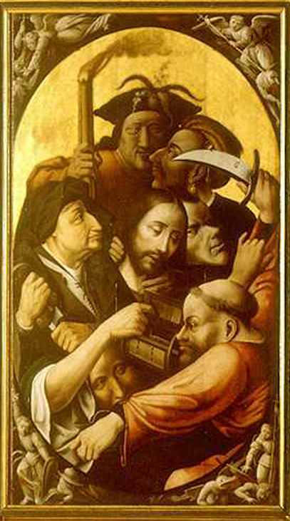 Order Art Reproduction : Passion of the Christ, 1515 by Hieronymus Bosch (1450-1516, Netherlands) | ArtsDot.com