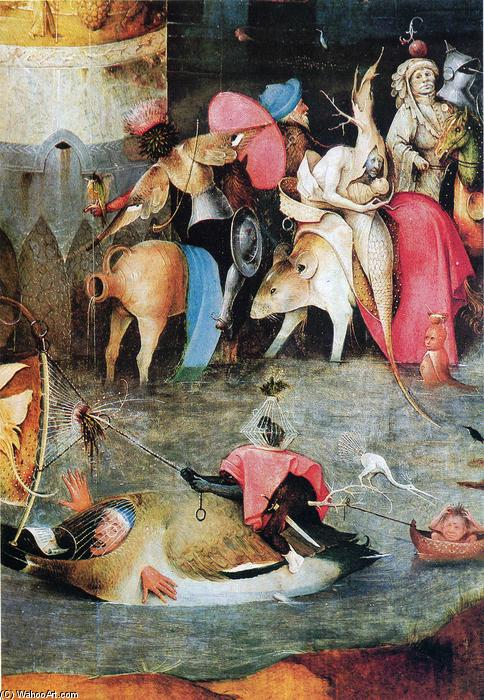 Buy Museum Art Reproductions : Group of Victims by Hieronymus Bosch (1450-1516, Netherlands) | ArtsDot.com