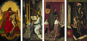 Hugo Van Der Goes - The Trinity Altar Panels