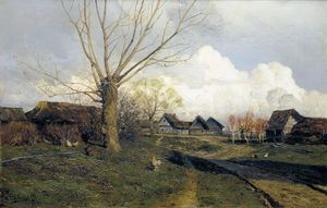 Isaak Ilyich Levitan - Village Savvinskaya near Zvenigorod