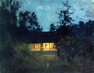 Isaak Ilyich Levitan - At the summer house in tw..