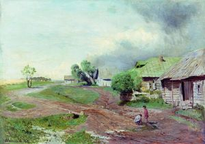 Isaak Ilyich Levitan - Before the thunderstorm