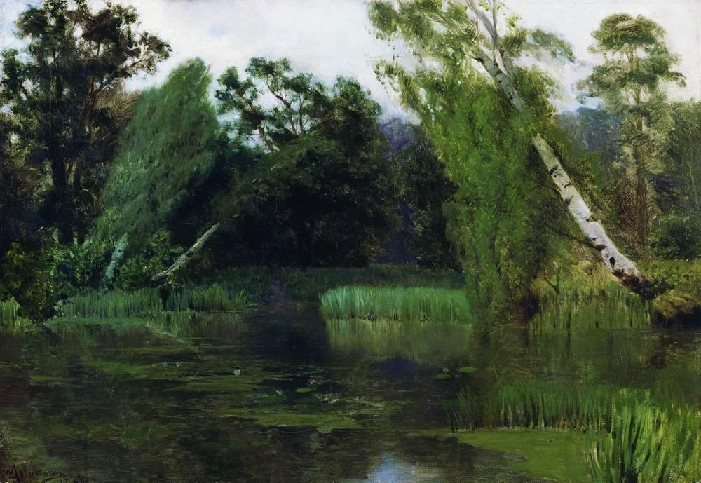 Order Museum Quality Copies | At the park, 1880 by Isaak Ilyich Levitan (1860-1900, Russia) | ArtsDot.com