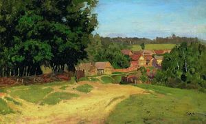 Isaak Ilyich Levitan - Small village