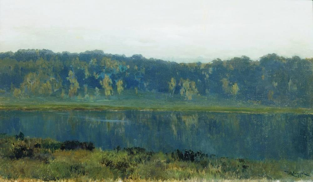 Autumn morning, 1887 by Isaak Ilyich Levitan (1860-1900, Russia) | Reproductions Isaak Ilyich Levitan | ArtsDot.com