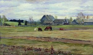 Isaak Ilyich Levitan - Dull day