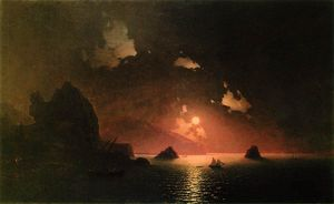 Ivan Aivazovsky - Gurzuf night