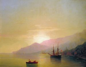 Ivan Aivazovsky - Ships at anchor