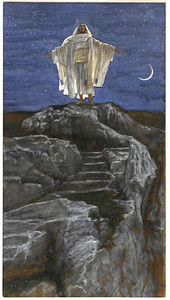 James Jacques Joseph Tissot - Jesus Goes Up Alone onto a Mountain to Pray