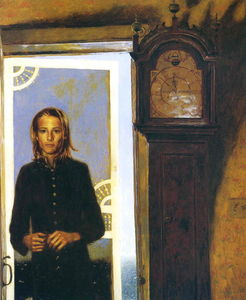 Jamie Wyeth - Screen Door to the Sea