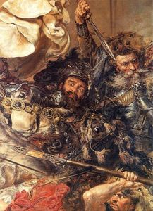 Jan Matejko - Battle of Grunwald (detail) (10)