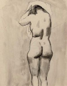 Jan Sluyters - A standing nude