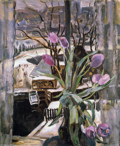 Jan Sluyters - Still life with flowers
