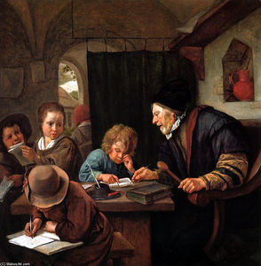 Jan Steen - School teacher