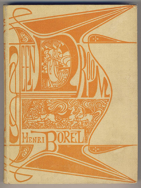 Cover for 'A dream' by Henri Borel, 1899 by Jean Theodoor Toorop (1858-1928, Indonesia)