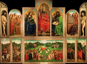 Jan Van Eyck - The Ghent Altarpiece