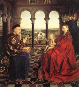 Jan Van Eyck - The Rolin Madonna (La Vie..